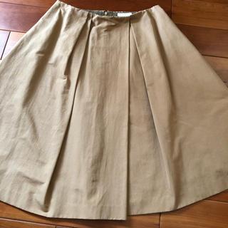 ボールジィ(Ballsey)のボールジィ フレアスカート キャメル色  34サイズ(ひざ丈スカート)