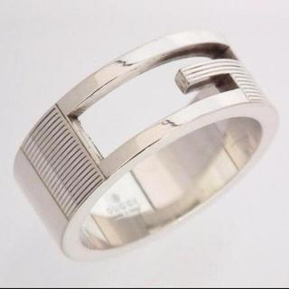 グッチ(Gucci)の定価¥25620 GUCCI シルバーリング(リング(指輪))