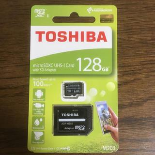 東芝 - microsd カード 128GB
