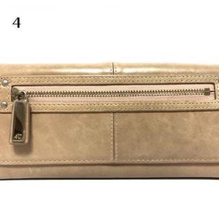 4℃ - 4℃(ヨンドシー) 長財布 ライトブラウン レザー