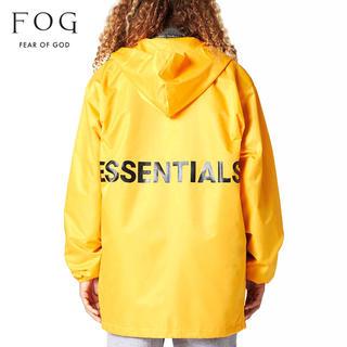フィアオブゴッド(FEAR OF GOD)のFOG essentials coaches jacket 新品 Mサイズ(ナイロンジャケット)