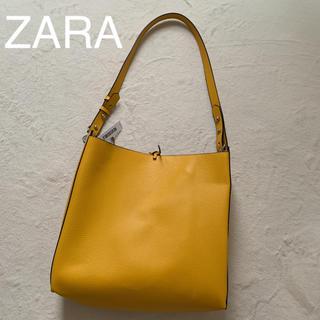 ZARA - 新品タグ付  ZARA  ショルダーバッグ  ハンドバッグ