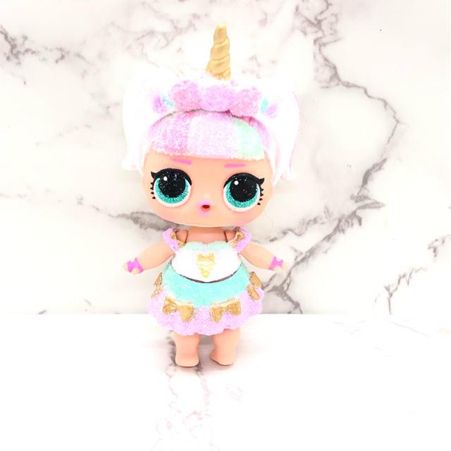Takara Tomy(タカラトミー)のPURPLE CURTAIN様 専用 lol  SPARKLE ユニコーン  エンタメ/ホビーのおもちゃ/ぬいぐるみ(キャラクターグッズ)の商品写真