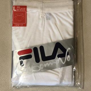 フィラ(FILA)のFILA ショーツ 白 Lサイズ綿100% 2枚(ショーツ)