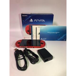 PlayStation Vita - PlayStation®Vita メタリックレッド