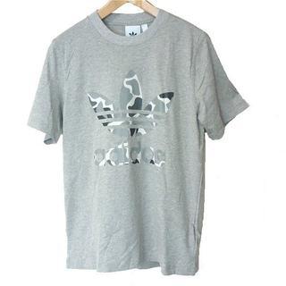 アディダス(adidas)の新品◆(M)adidas originalsグレーカモトレフォイルTシャツ(Tシャツ/カットソー(半袖/袖なし))