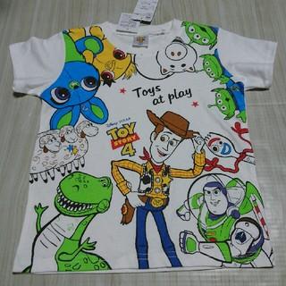 トイストーリー(トイ・ストーリー)のトイ・ストーリー4 Tシャツ ボーイズ  サイズ 110 110㎝  (Tシャツ/カットソー)