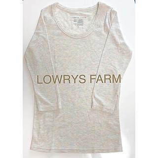 ローリーズファーム(LOWRYS FARM)のローリーズファーム ロンT 7分丈 Sサイズ レディースシャツ(Tシャツ(長袖/七分))
