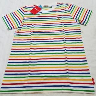 mikihouse - ミキハウス150サイズストライプTシャツ