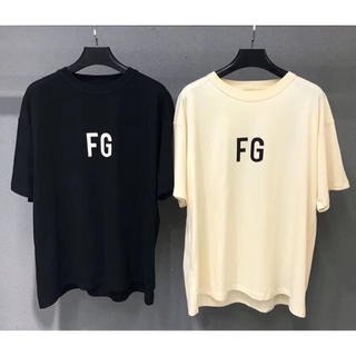 FEAR OF GOD -  FEAR OF GOD 黒ベージュ2点セットTシャツ