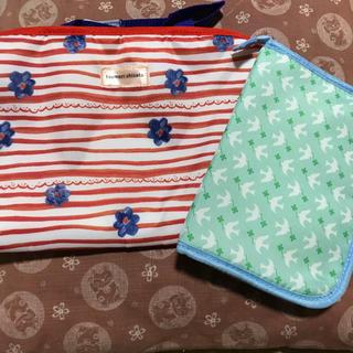 ツモリチサト(TSUMORI CHISATO)のドライブポケット & 母子手帳ケース(ベビーおむつバッグ)