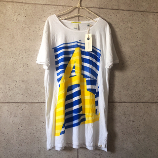 スコッチアンドソーダ(SCOTCH & SODA)の新品・タグ付 メンズ SCOTCH&SODA Tシャツ 白 L(Tシャツ/カットソー(半袖/袖なし))