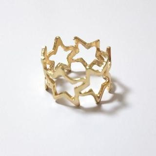 星フレームリング ゴールド(リング(指輪))