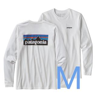 patagonia - patagonia  メンズ・ロングスリーブ・P-6ロゴ・レスポンシビリティーM