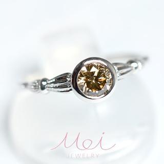 天然ダイヤ メイジュエリー Pt900 ダイヤモンド リング アンティーク(リング(指輪))