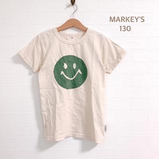 MARKEY'S - 【MARKEY'S】Jippon オフホワイト にこちゃん Tシャツ 130