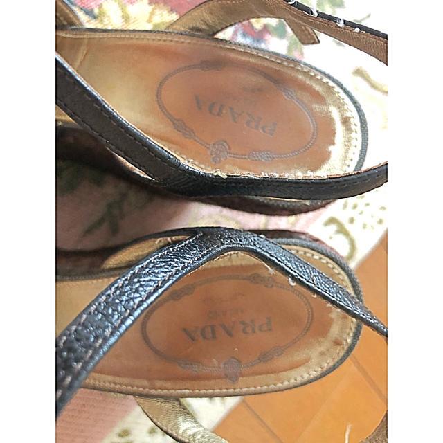 PRADA(プラダ)のPRADA ウェッジサンダル レディースの靴/シューズ(サンダル)の商品写真