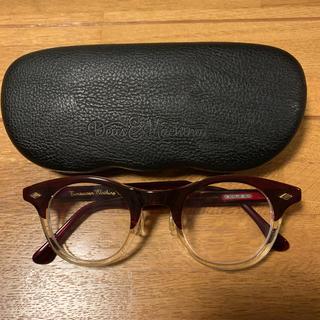 テンダーロイン(TENDERLOIN)の人気品! ATLAST 白山眼鏡 レイバン メガネ サングラス ボストン クリア(サングラス/メガネ)