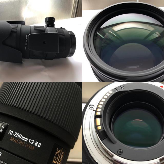 SIGMA(シグマ)のsigma70-200/2.8 APO EX DG MACRO II Canon スマホ/家電/カメラのカメラ(レンズ(ズーム))の商品写真