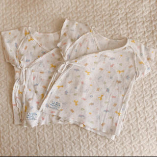 familiar - ファミリア 短肌着 新生児