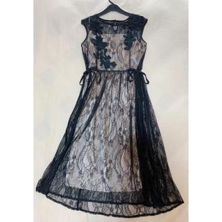 STRAWBERRY-FIELDS - STRAWBERRY-FIELDS♡レース刺繍ワンピースドレス