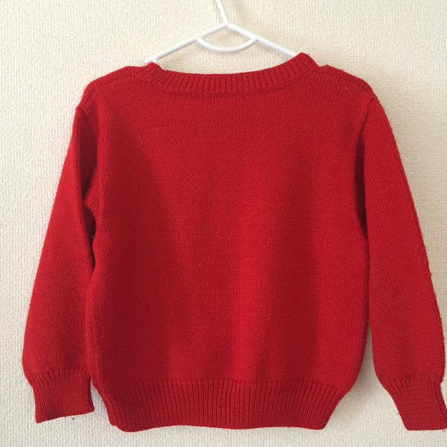 familiar(ファミリア)のファミリア セーター  100 女の子 キッズ/ベビー/マタニティのキッズ服 女の子用(90cm~)(ニット)の商品写真