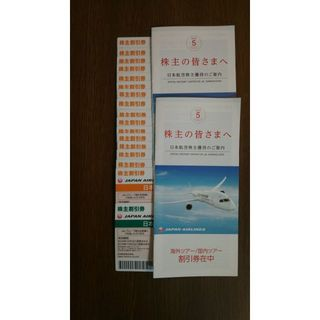 JAL株主優待券 17枚(航空券)