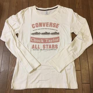 コンバース(CONVERSE)の【CONVERSE】長袖Tシャツ M(Tシャツ(長袖/七分))
