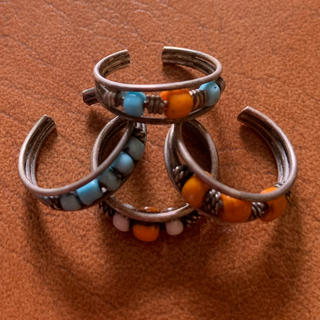 指輪 足の指輪 4個セット(リング(指輪))