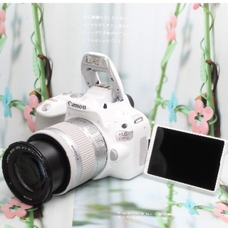 Canon - ❤️Wi-Fi&自撮りを思いのままに❤️キヤノン kiss x9 ホワイト❤️
