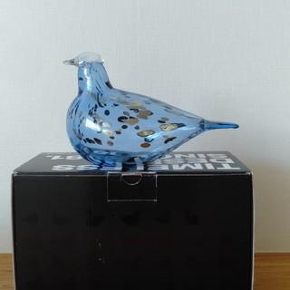 イッタラ(iittala)の最終価格 blue saphire aqua イッタラ バード オイバトイッカ(置物)