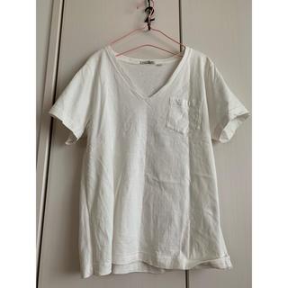 ニコアンド(niko and...)のニコアンド  USAコットン シンプル Vネック Tシャツ(Tシャツ(半袖/袖なし))