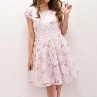 LIZ LISA - リズリサ  花柄 刺繍 レース ワンピース