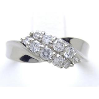 プラチナ ダイヤモンド 0.50ct リング*(リング(指輪))