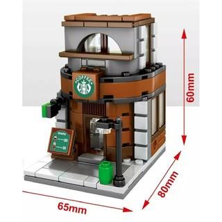 スターバックスコーヒー(Starbucks Coffee)のナノブロック コーヒースタバショップ レゴ (積み木/ブロック)