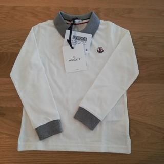 モンクレール(MONCLER)の【新品】MONCLER モンクレール 長袖ポロシャツ 5A(Tシャツ/カットソー)