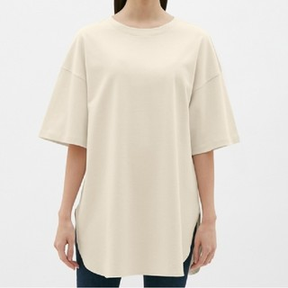 GU - GU オーバーサイズTシャツ