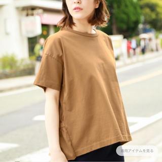 ニコアンド(niko and...)のniko  and...バッグペプラムTシャツ(Tシャツ(半袖/袖なし))