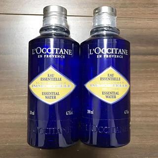 ロクシタン(L'OCCITANE)の2本‼︎ ロクシタン イモーテル エッセンシャルフェースウォーター(化粧水 / ローション)