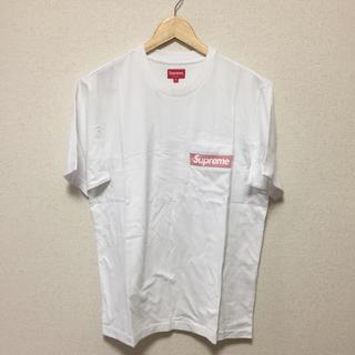 Supreme - 【新品未使用】Supreme Mesh Stripe Pocket Tee