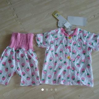 しまむら - パジャマ  腹巻き 夏服  半袖  80cm