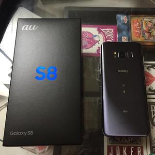 ギャラクシー(Galaxy)のGalaxy S8 SCV36 au(SIMロック解除済み)(スマートフォン本体)