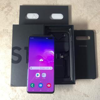 ギャラクシー(Galaxy)のSIMフリー Galaxy s10+ 128GB ブラック SM-G975(スマートフォン本体)