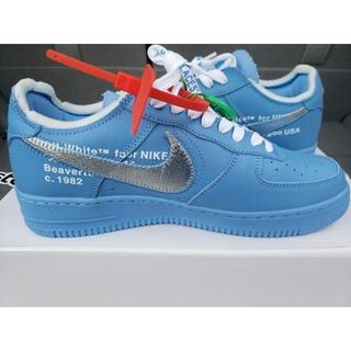 OFF-WHITE - 27.5cm OFF WHITE NIKE AIR FORCE 1 MCA