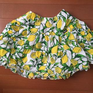 ジェニィ(JENNI)のファーファ様専用 JENNI ジェニィ 檸檬柄 フレア ミニ (スカート)