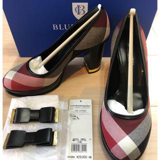BURBERRY BLUE LABEL - 新品★ブルーレーベル クレストブリッジ ハイヒール パンプス サンダル