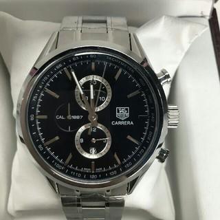 TAG Heuer - TAG HEUER 1887 CAR2110-3 SSブラック メンズ 腕時計