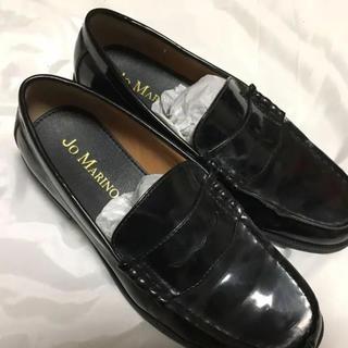 箱付き ローファー 黒(ローファー/革靴)