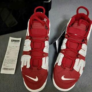 Supreme - Supreme Nike Air More Uptempo Supreme