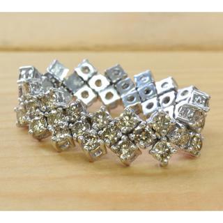 K18WG ダイヤ リング  2.50ct(リング(指輪))